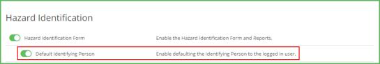 Hazard ID