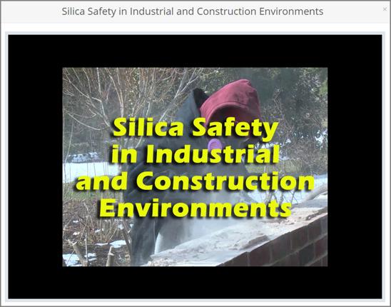 Silica Safety