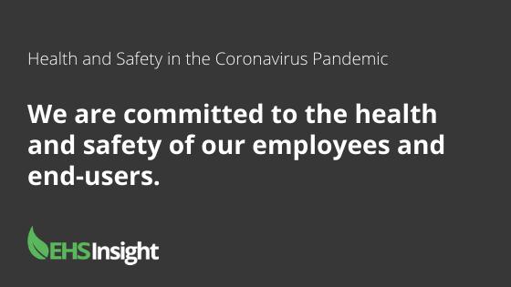 EHS Insight Coronavirus (COVID-19)