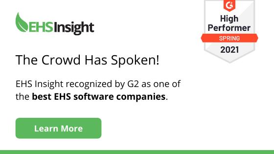 EHS Insight G2 Award