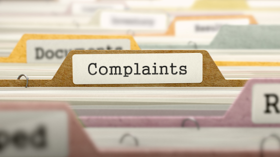 reporting safety complaints