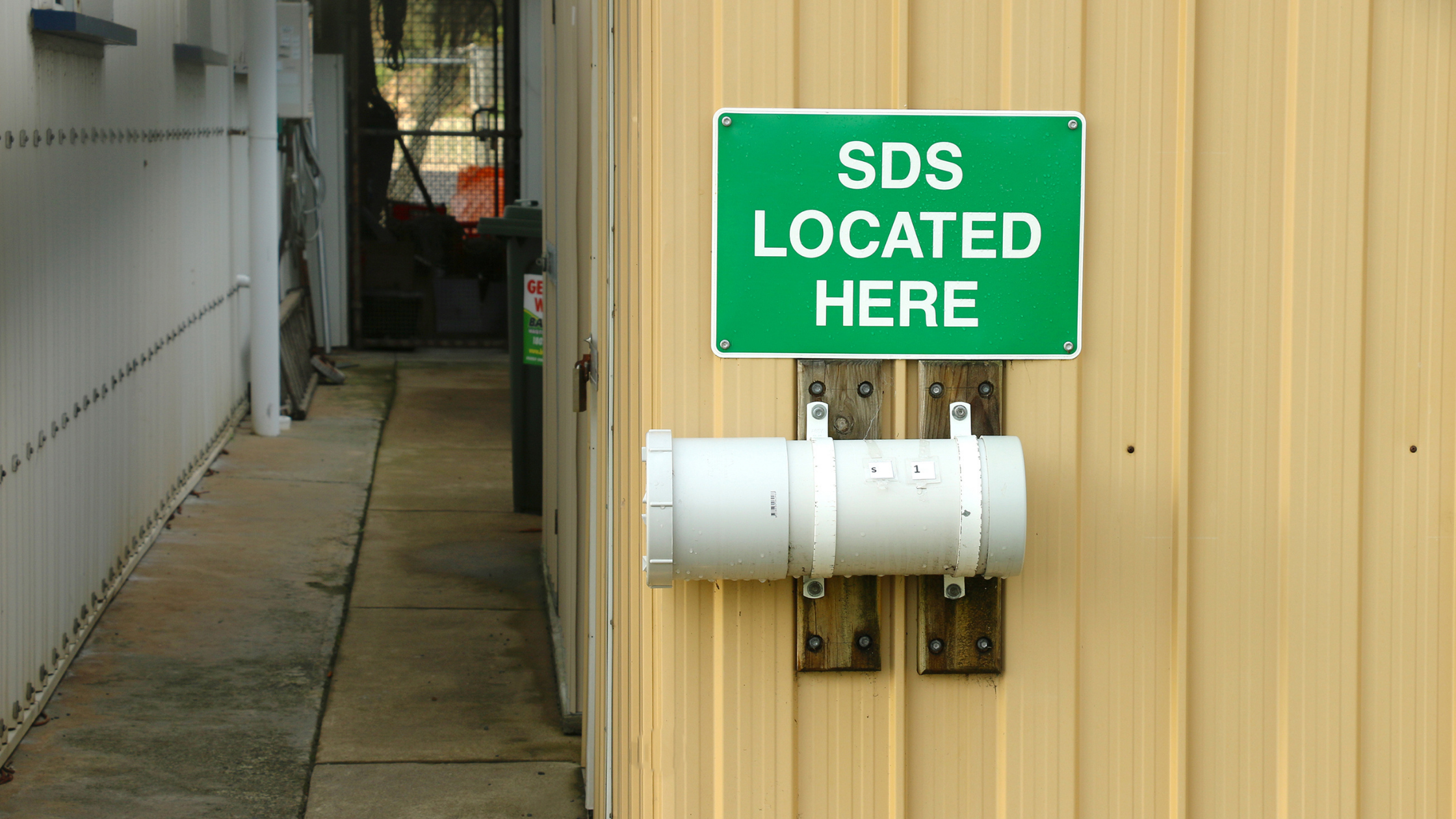 safety data sheets (SDS)