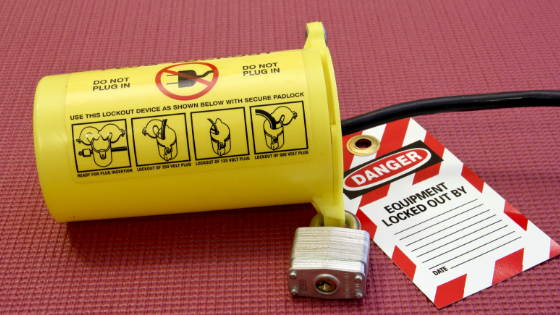 lockout tagout hazardous energy