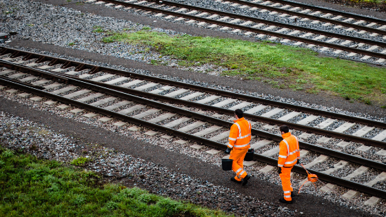 rail safety workers