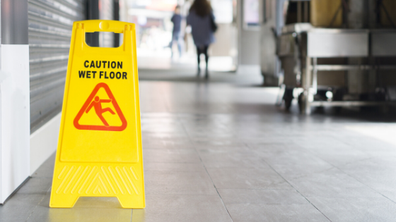 slips, trips and falls workplace safety