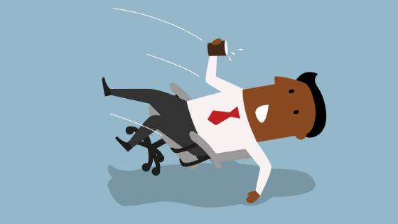 workplace fall