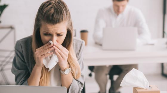 workplace flu